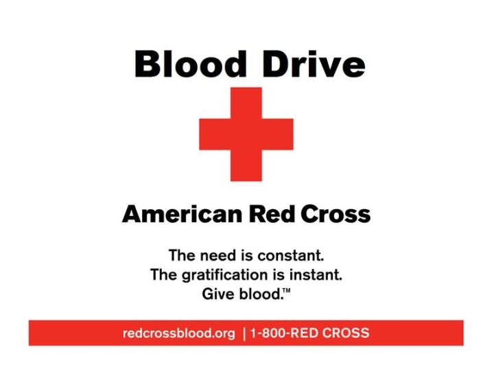 Blood Drive: July 28th