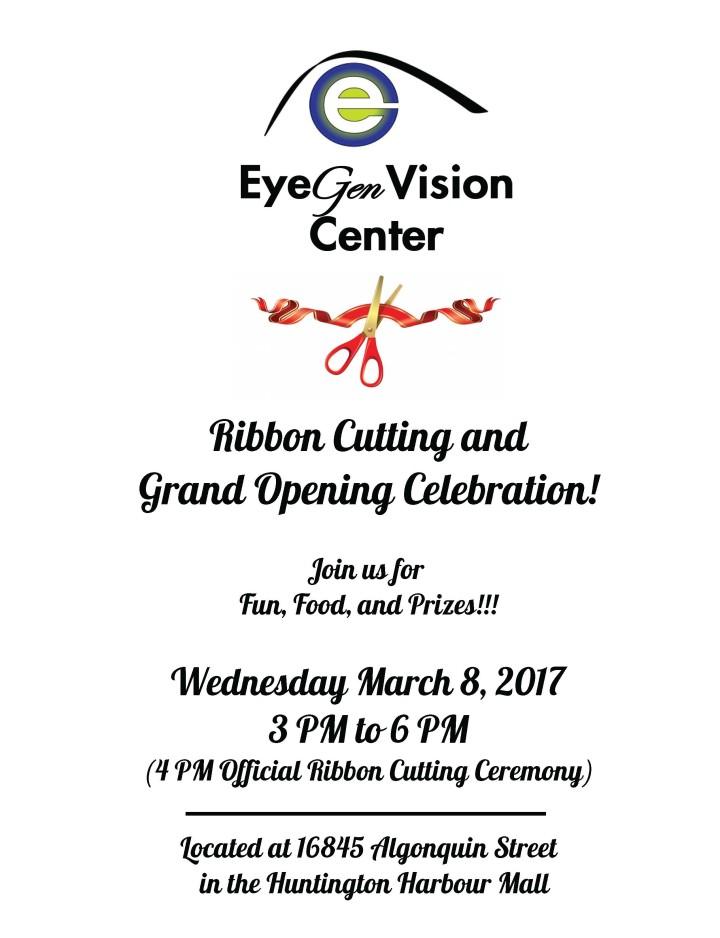EyeGen Vision Grand Opening Celebration