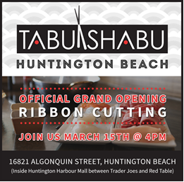 Tabu Shabu Grand Opening
